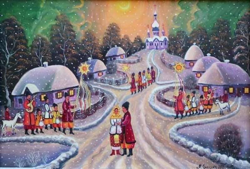 Щедрык украинская новогодняя мелодия