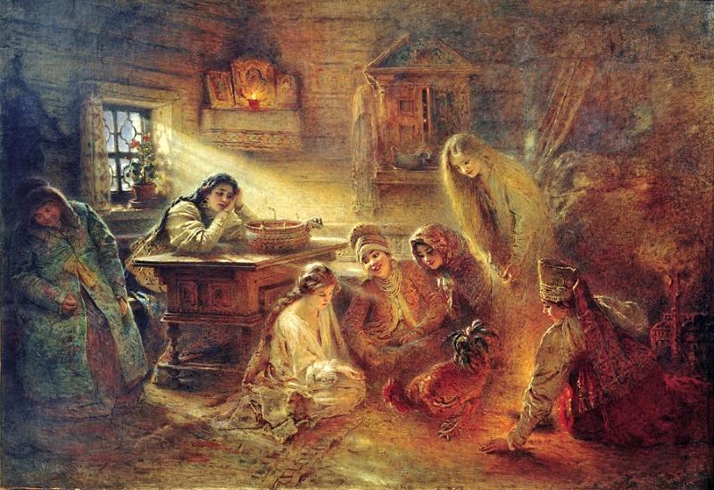В России Christmastide