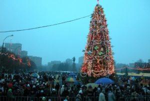 В России елка