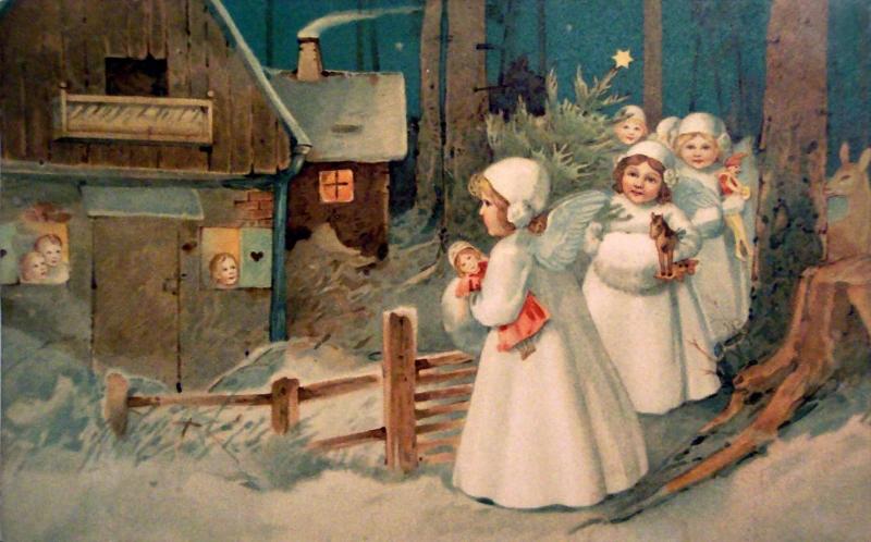 Международные рождественские поздравления