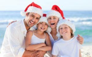 Новый год отдыхать семьей