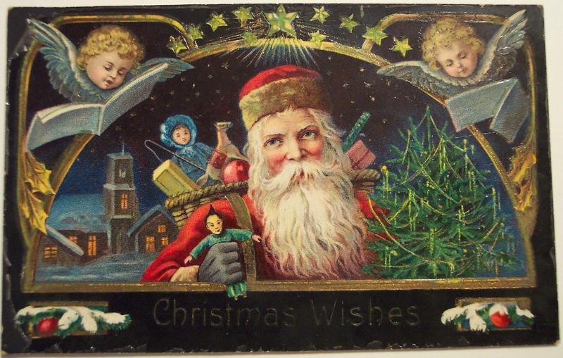 Благотворительные рождественские открытки