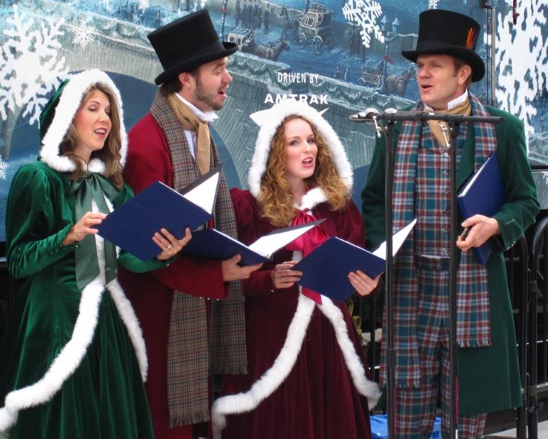 Рождественские песни из мюзиклов