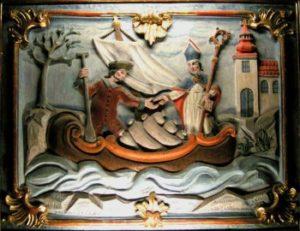 В римско-католической иконографии