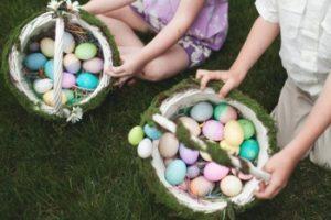 Распространение пасхальных яиц