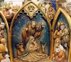 В Christmastide традиционно проводятся