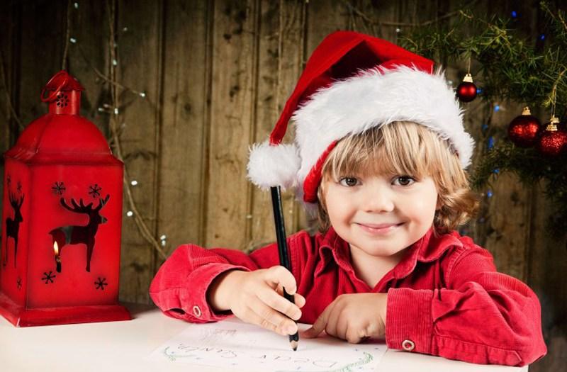 Написание письма Деду Морозу