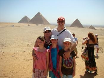 Египет — родина пирамид