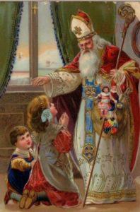 Святой Николай происходит в основном вЭльзасе