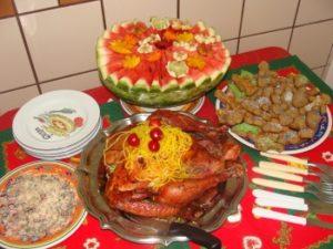 Бразилия ужин