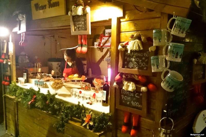 Рождественский рынок Болгария