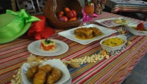 Колумбия ужин