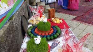 На иранском празднике Новруз
