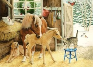 Лошадь, собаку и тигразаписалив третью группу