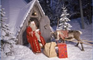 Père Noël иногда путают