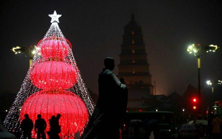 рождество в Ливане