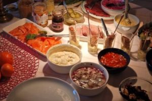 Швеция ужин