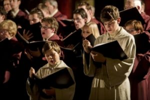 Певческие гимны в церкви