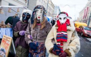 В Литве праздник называется Užgavėnės