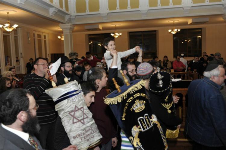 Симхат Тора еврейский праздник